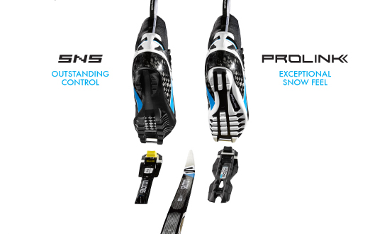 Rollerski Salomon Prolink Boots And Bindings