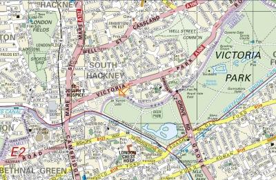 Victoria London Map.Rollerski Venues